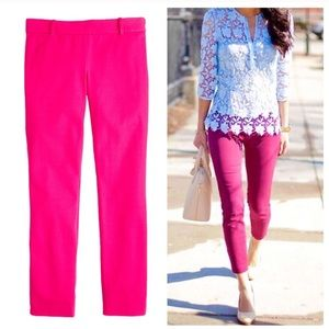 Hot Pink Minnie Cropped Pants by J.Crew